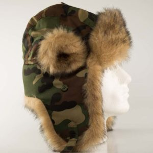 Camouflage Trapper Hat