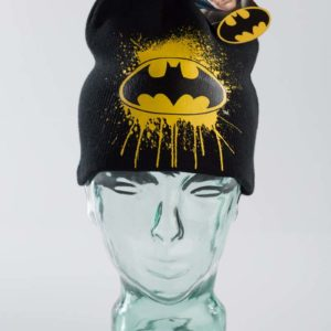Black Badman Beenie vinyl print