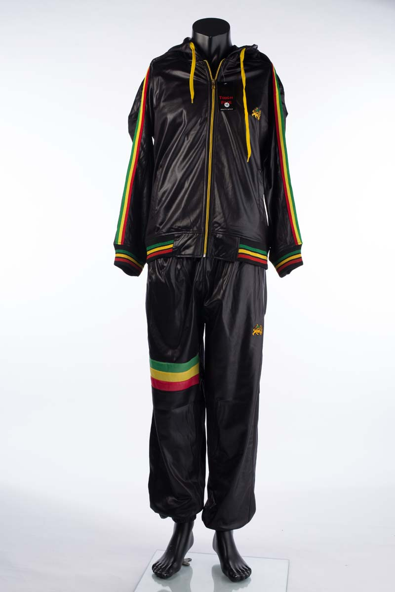 where to buy new high classic shoes Shiny Raw Blue Tracksuit Plain Black Red Yellow Green (Medium)