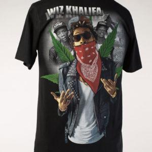 Wiz Khalifa Black Tee