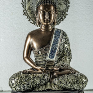 Bronze and silver Buddha Thai