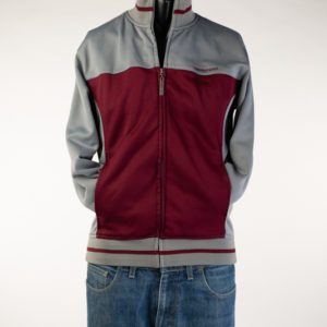 Lambretta Grey and Red Track Top (Medium)