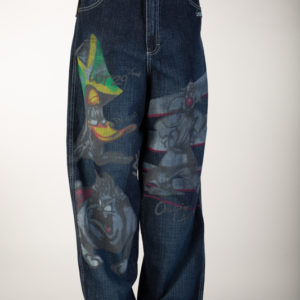 Blue Denim LOT29 Looney Toons Jeans