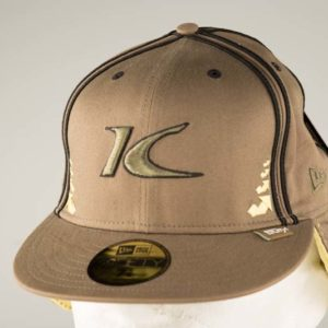 King Light Brown Baseball Cap with Ear Flaps