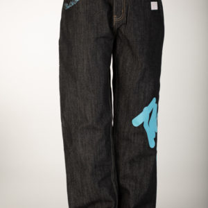 "Black Raw ""time is money"" Jeans"