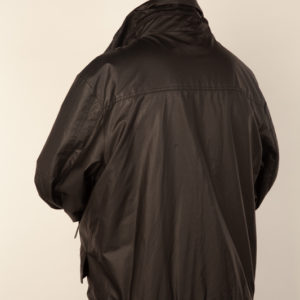 Black Waterproof Kangol Jacket (Large)