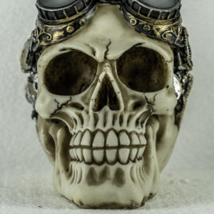 Skullhead ivory with goggles