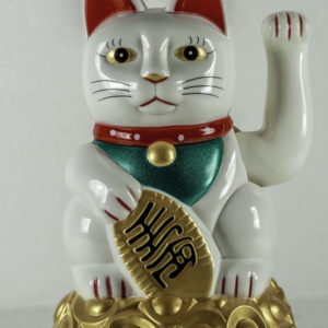 White lucky cat