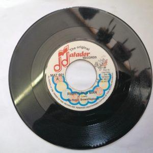 Little Roy/D.Brown/Heptones- Righteous Man 7″ original vinyl