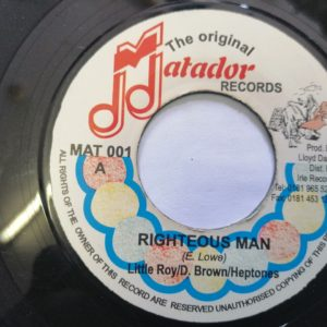 Little Roy/D.Brown/Heptones- Righteous Man 7″ original vinyl