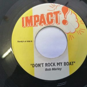 Bob Marley- Dont Rock My Boat/ Sugar Sugar 7″ original vinyl
