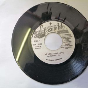 Alton Ellis- Diana/I've lost that love 7″ original vinyl