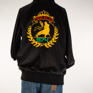 Black reggae jacket (large)