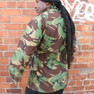 Smock windproof cadet forces camouflage jacket