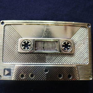 Cassette Tape Belt Buckle