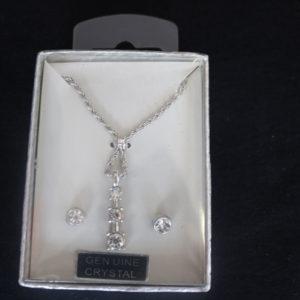 Genuine Crystal Necklace Set