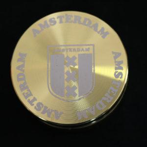 Gold Amsterdam Grinder