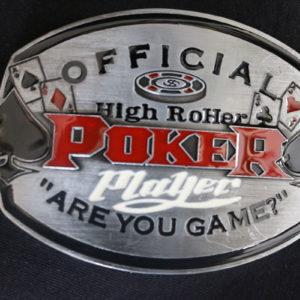 Poker Belt Buckle