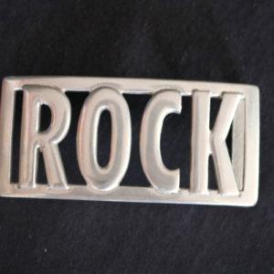 Rock Belt Buckle