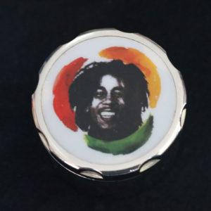 Silver Bob Marley Grinder
