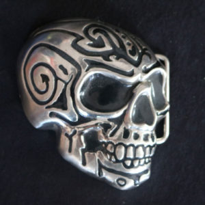 Skull Head Belt Buckle