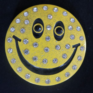 Smiley Face Belt Buckle