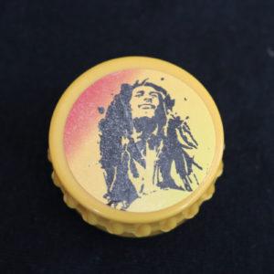 Yellow Bob Marley Grinder