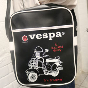 Black Vespa Bag