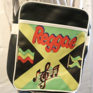 Reggae Bag with Jamaican Flag