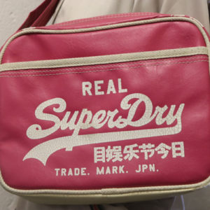 Pink Superdry Bag