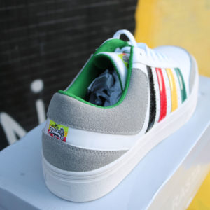 Rasta Trainer with Stripes